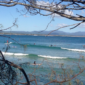 Bay Family Chiropractic - small surf Byron Bay